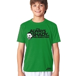 ALWAYS SHADY YOUTH TEE (KELLY GREEN)