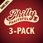 PHILLY PHAITHFUL 3-PACK