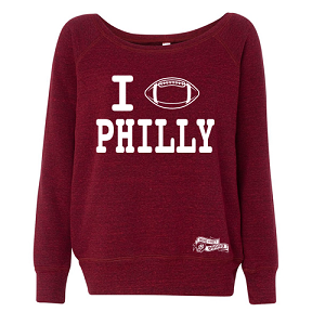 PHILADELPHIA COLLEGE FOOTBALL SWEATSHIRT