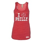 PHILLY BASEBALL ECO RACERBACK TANK