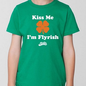 KISS ME I'M FLYRISH (YOUTH TEE)
