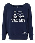 HAPPY VALLEY FOOTBALL SWEATSHIRT - NAVY