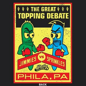 THE GREAT TOPPING DEBATE