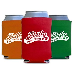 PHILLY PHAITHFUL BEER KOOZIES (3)