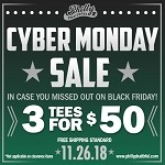 CYBER MONDAY - 3 FOR $50